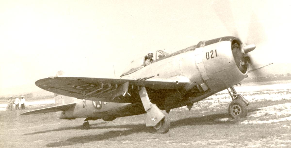 F-47 Thunderbolt v Cerkljah